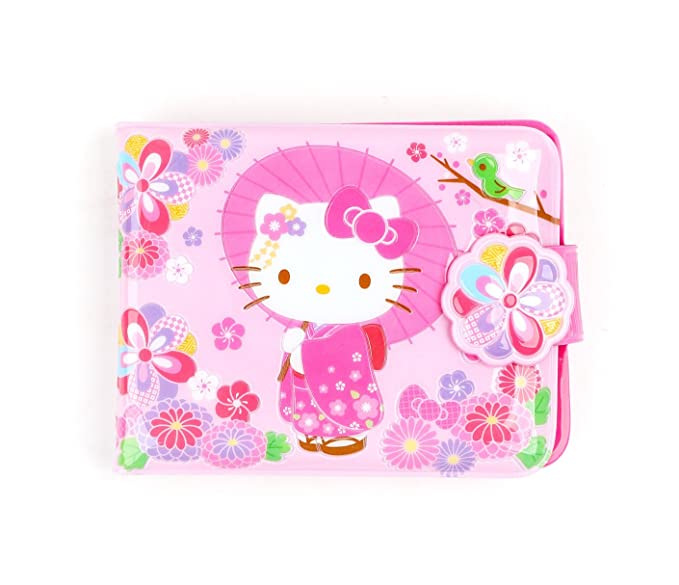 48dbcd478 Image Unavailable. Image not available for. Colour: Sanrio Hello Kitty  Vinyl Wallet: ...