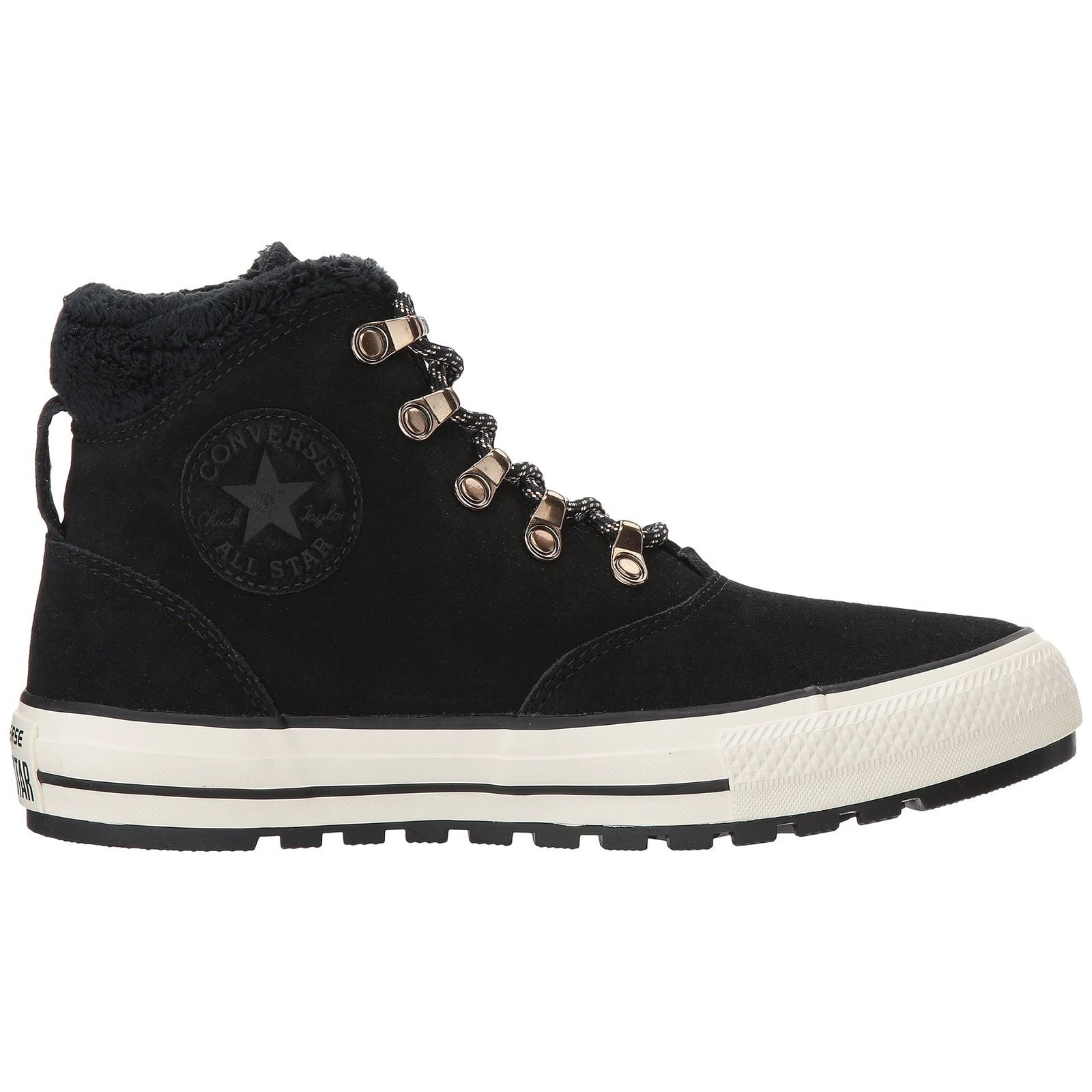Converse CTAS Ember Boot Hi Mens Skateboarding-Shoes 557935C_7.5 - Black/Black/Egret