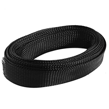 amazon com nylon expandable braided sleeving wiring wrap 4 6m 30mm rh amazon com wire wrapping stones wring wrap