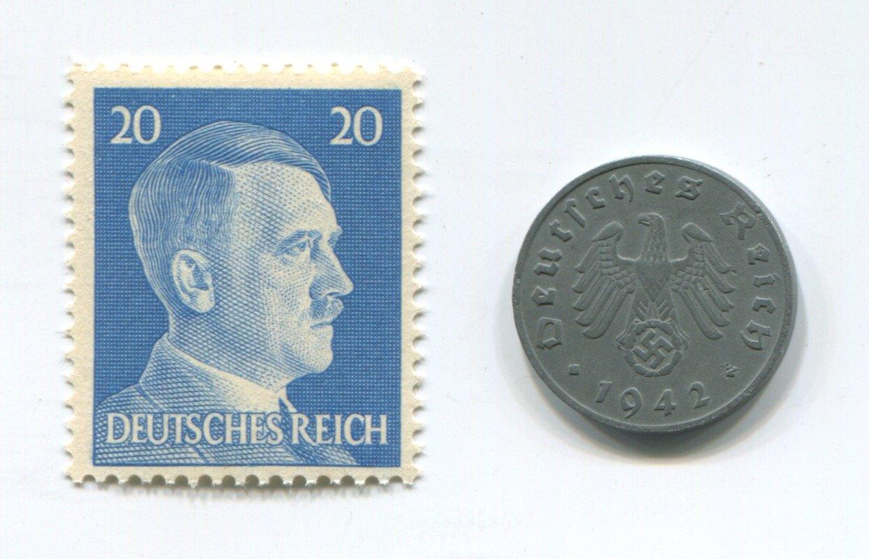 Amazon Rare Nazi Swastika 1 Reichspfennig German Coin World War