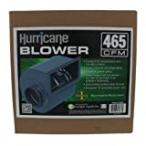 Hurricane Blower with Adapters, 465 Cubic Feet