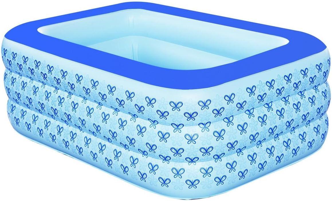 FACAI888 piscina inflable / niños bañándose piscina / bañera inflable / bañera inflable niños se lavan / Azul , s