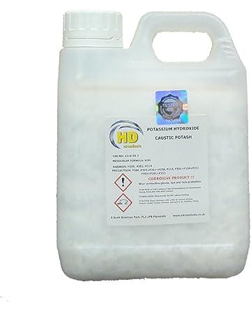 Hidróxido de potasio en copos, 90 % de potasa cáustica, producto de calidad,