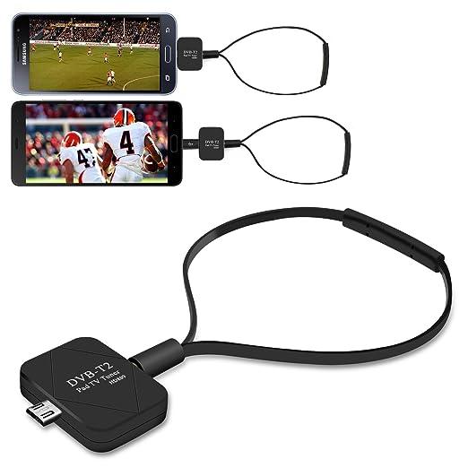 13 opinioni per Vansky® Micro USB DVB-T / DVB-T2 Portatile HD Digitale Ricevitore TV Tuner Stick