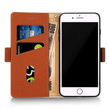 51dca8de91 Labato iPhone8ケース 手帳型 iPhone7ケース カード収納 財布型 スタンド機能 耐衝撃 耐