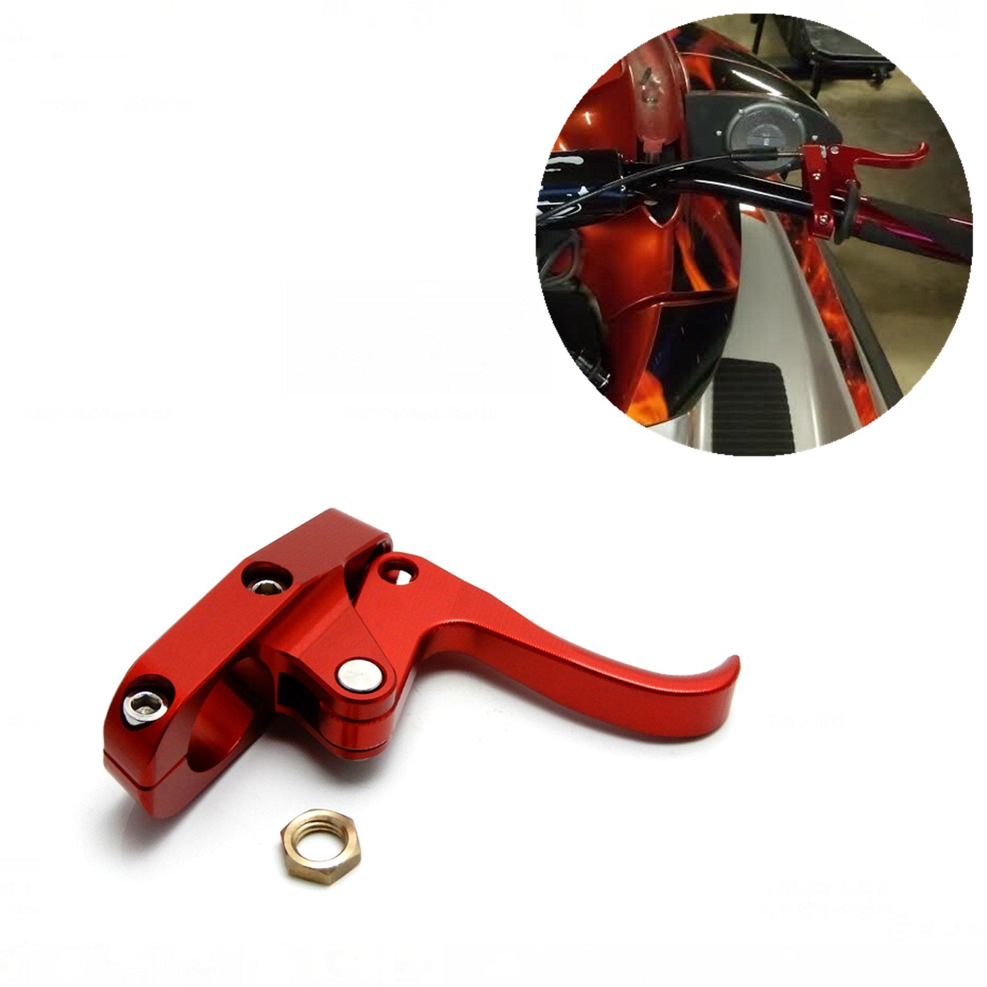 KEMIMOTO Aluminum Finger Throttle for Yamaha Wave Runner Kawasaki Super Jet Ski Sea-Doo (Red) …
