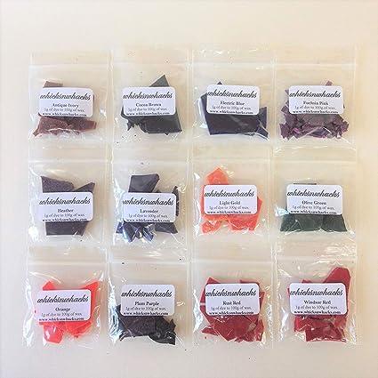 Amazon.com: 12 x 5 Gram bolsas Vela para velas de parafina o ...