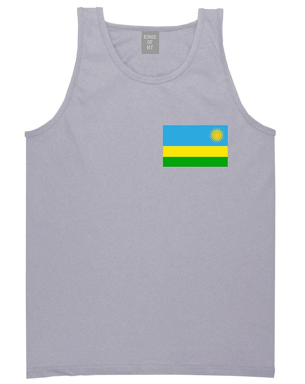 Rwanda Flag Country Chest Tank Top Shirt