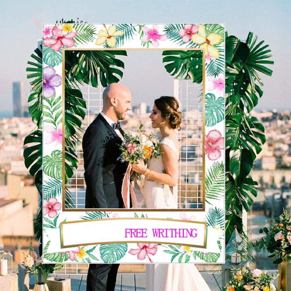 Luau Cadre photo pour photomaton Tiki hawa/ïen D/écorations de mariage 23 pi/èces