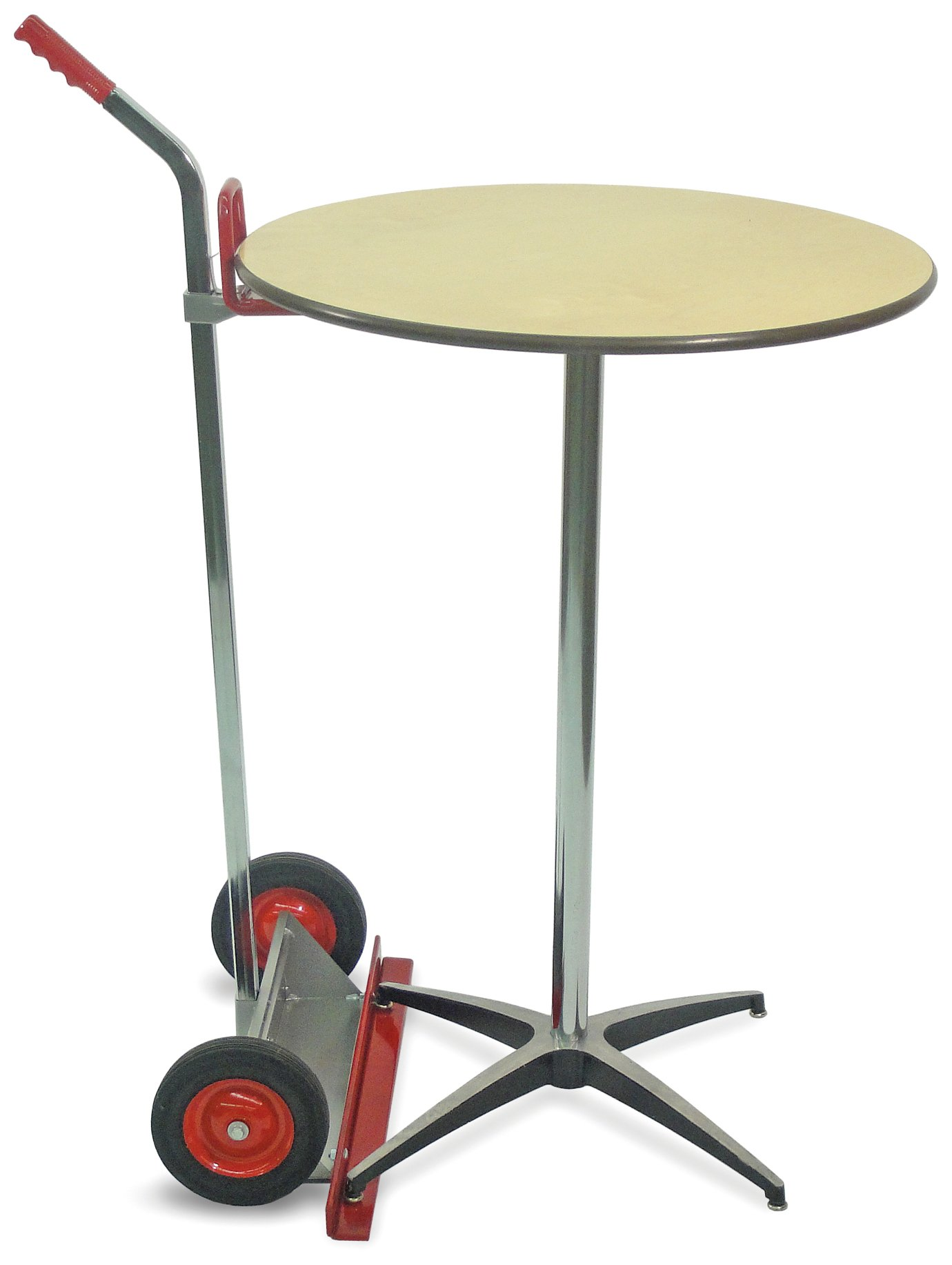 Raymond Steel Table Lift with Chrome Plated Handle, 200 lbs Load Capacity, 30'' Depth