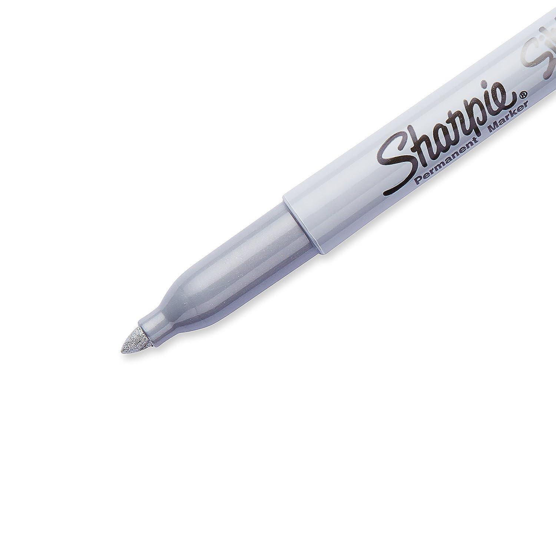Permanent Marker Fine 5-Carded 30665PP Sharpie FINE POINT Marker Permanent Black Ink