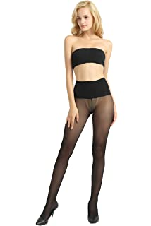 cf3c05030 JJ-GOGO Women s Sexy Large Mesh Fishnet Tights Pantyhose at Amazon ...