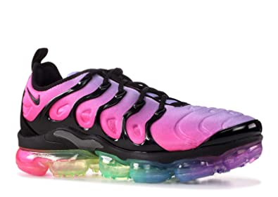 0247c75fa8bdad Image Unavailable. Image not available for. Color  NIKE Air Vapormax Plus  Be True Gay Pride Rainbow ...