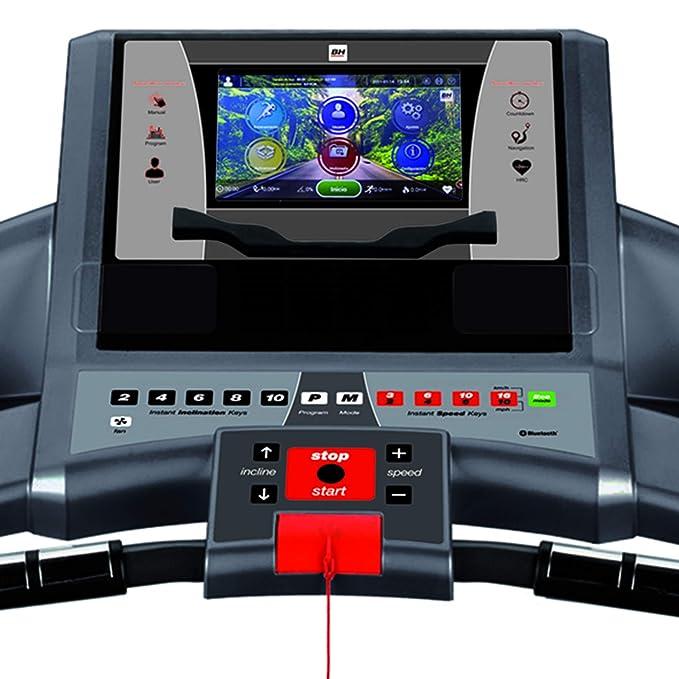 BH Fitness Cinta de Correr + máquina de dominadas F2W: Amazon.es ...