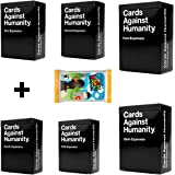 Cards Game Against Humanity 1-6 Expansion Edition And a Geek Pack Bonus!