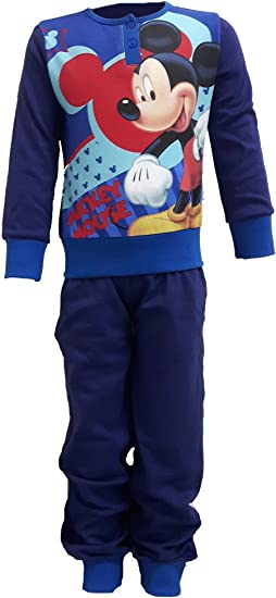 Mickey Mouse Bimbo Pigiama Lungo