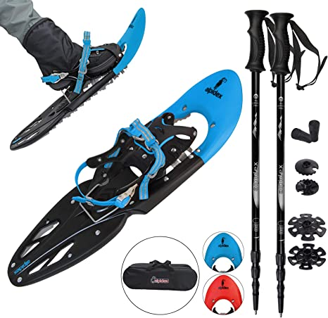 Snowshoes Winter Outdoor Sports Hiking Universal Aluminum Snow Shoes w//Bind Bag
