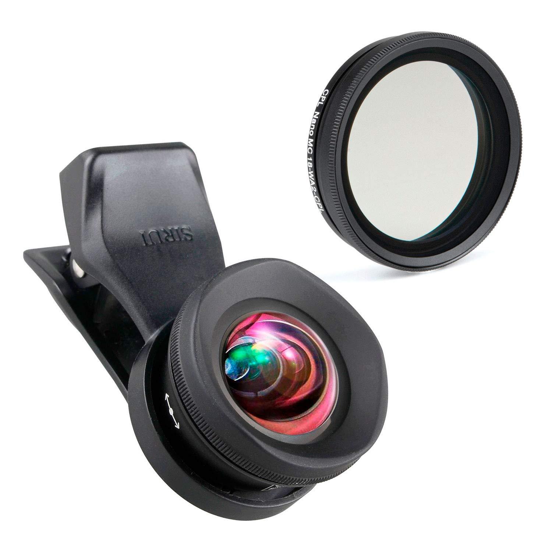 SIRUI 18-WA2-NDX Variabler Graufilter f/ür SIRUI 18-WA2 und VD-01 Vorsatzobjektiv
