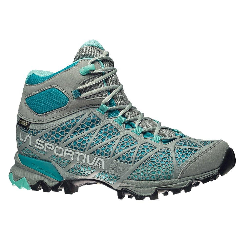 La Sportiva Women's Core High GTX Trail Hiking Boot B01K7VQU64 37 M EU|Grey/Mint