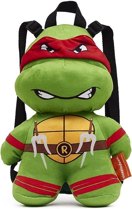 Teenage Mutant Ninja Turtles Raphael Plush Backpack- One Size