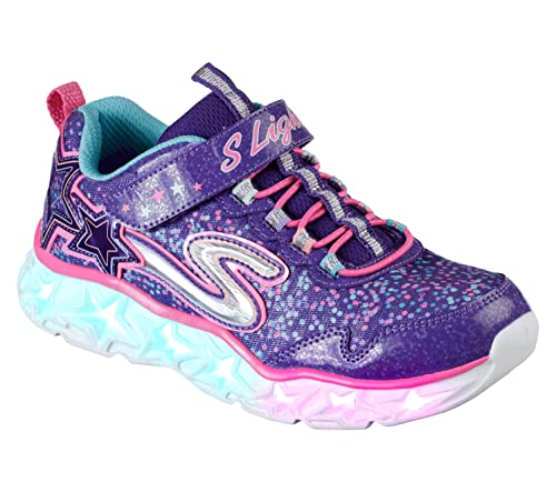 Skechers Galaxy Lights, Zapatillas para Niñas, (Purple/Multicolour), 27 EU: Amazon.es: Zapatos y complementos