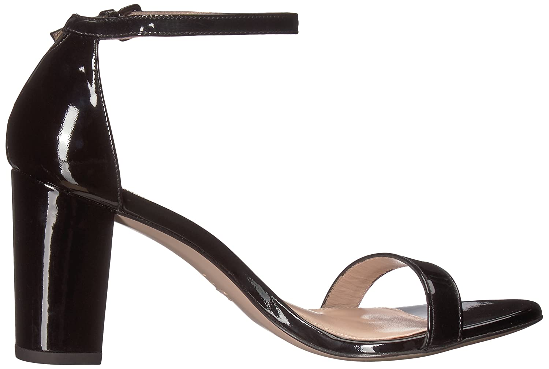 Stuart Weitzman B072JN2LQR Women's Nearlynude Heeled Sandal B072JN2LQR Weitzman 5 B(M) US|Black Patent ab545e