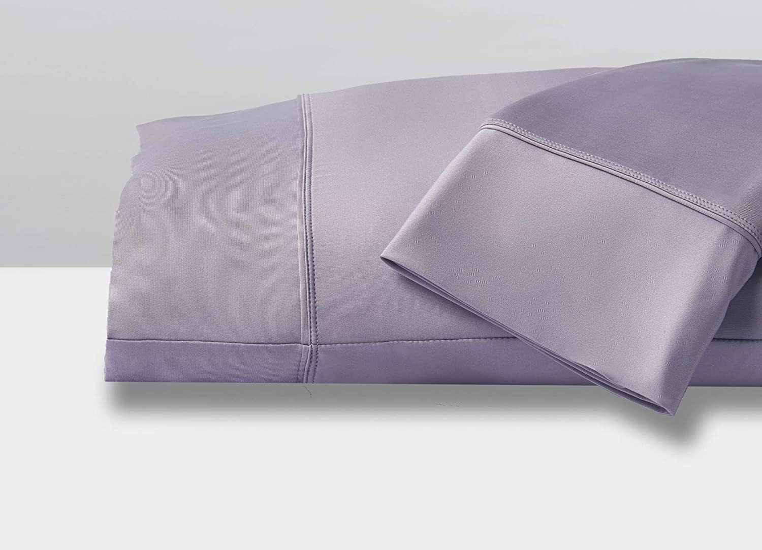 SHEEX - Original Performance Pillowcases (Set of 2), Ultra-Soft Fabric Transfers Body Heat and Breathes Better Than Traditional Cotton - Lavender, Standard