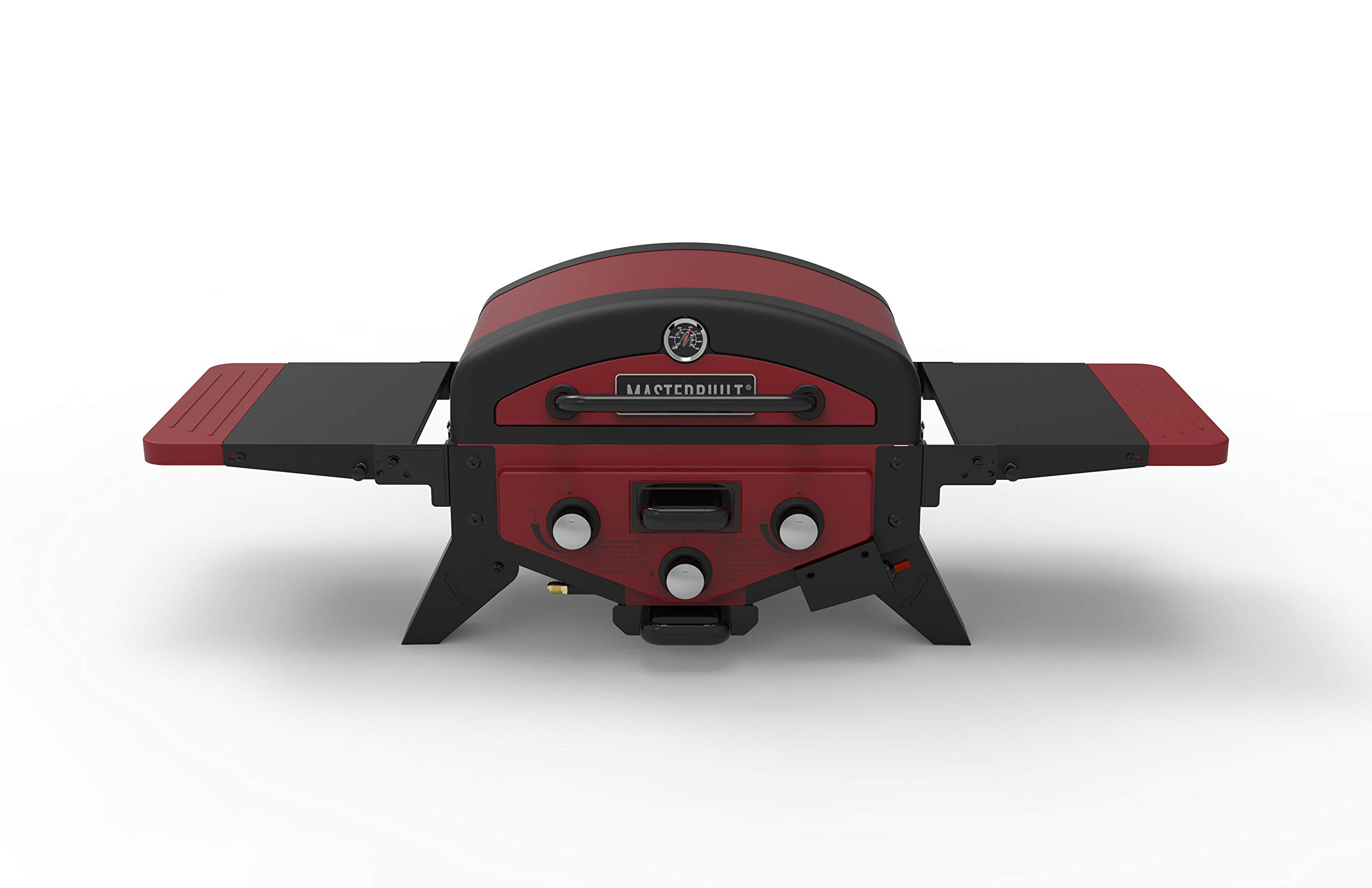 Masterbuilt MB20030619 MPG 300S Tabletop Gas Grill, Red