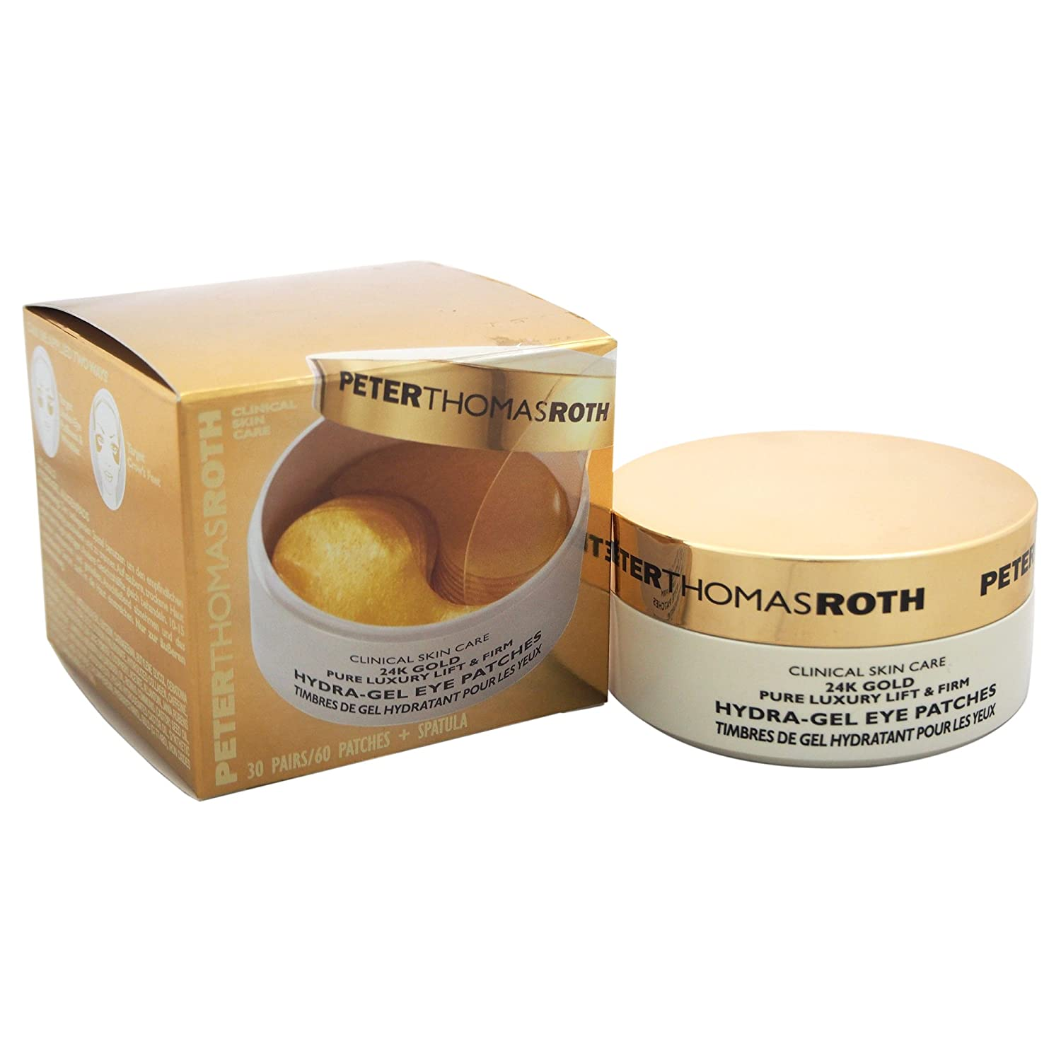 PETER THOMAS ROTH - 24k Gold Pure Luxury Lift and Firm Hydra-Gel Eye Patches 670367004043