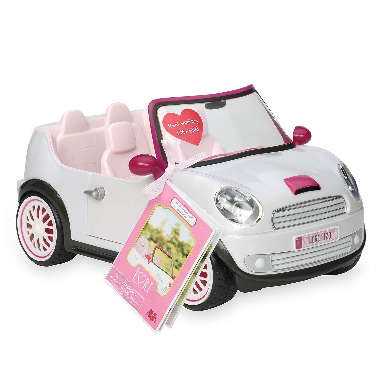 Lori Doll Go Everywhere Convertible Car   B01EYD1CU0