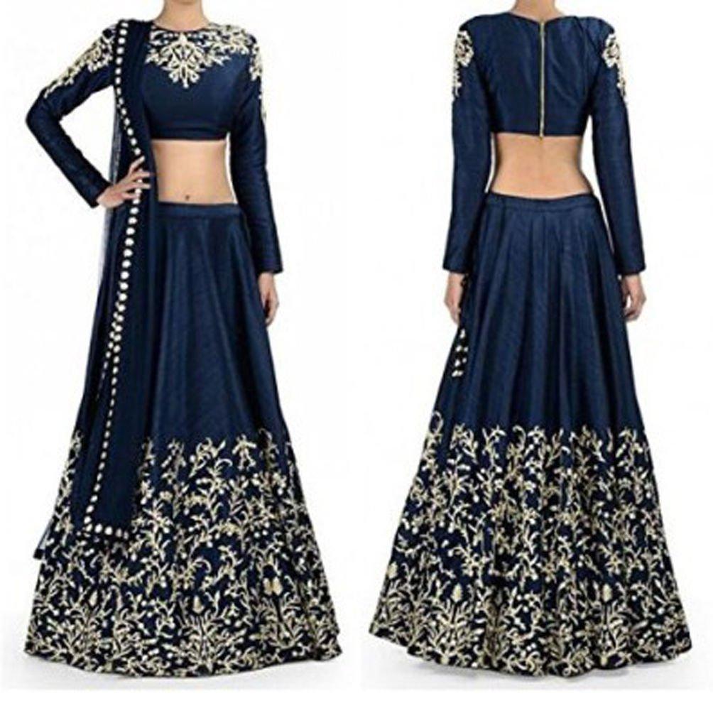 30d588a7940 Designer Party Wear Indian Wedding Sari Ethnic Bridal bollywood Lehenga  Choli  Amazon.co.uk  Clothing