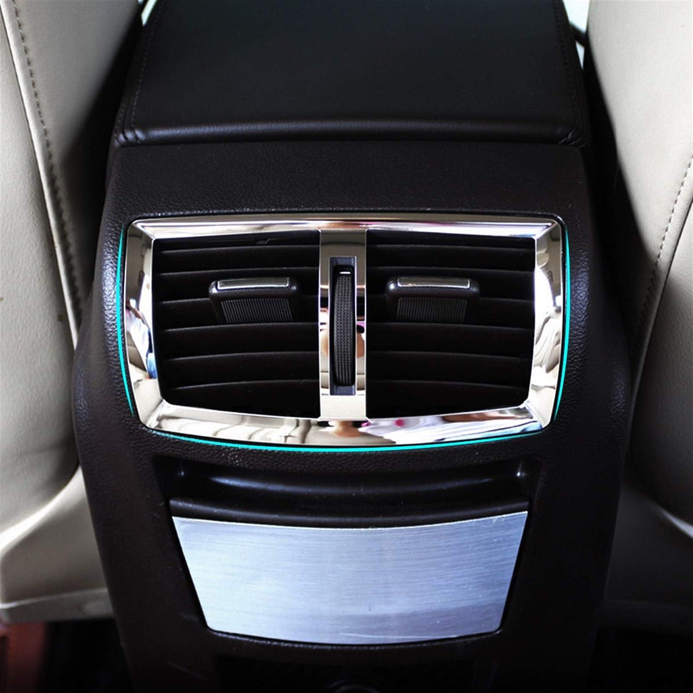 XUNGED Recorte De Acero Inoxidable Salida De Aire Acondicionado Decoraci/ón C/írculo Pegatina Cubierta For Opel Insignia Sport Tourer Sedan 2010-2014 Estilismo de Coche