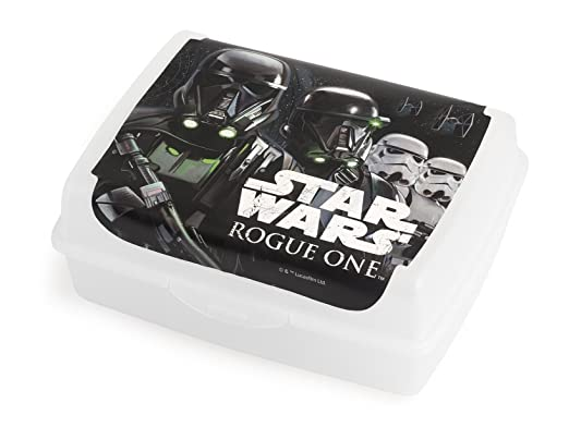 5 opinioni per Lulabi Rogue One Star Wars Porta Pranzo, Polipropilene, Multicolore, 17x13x7 cm