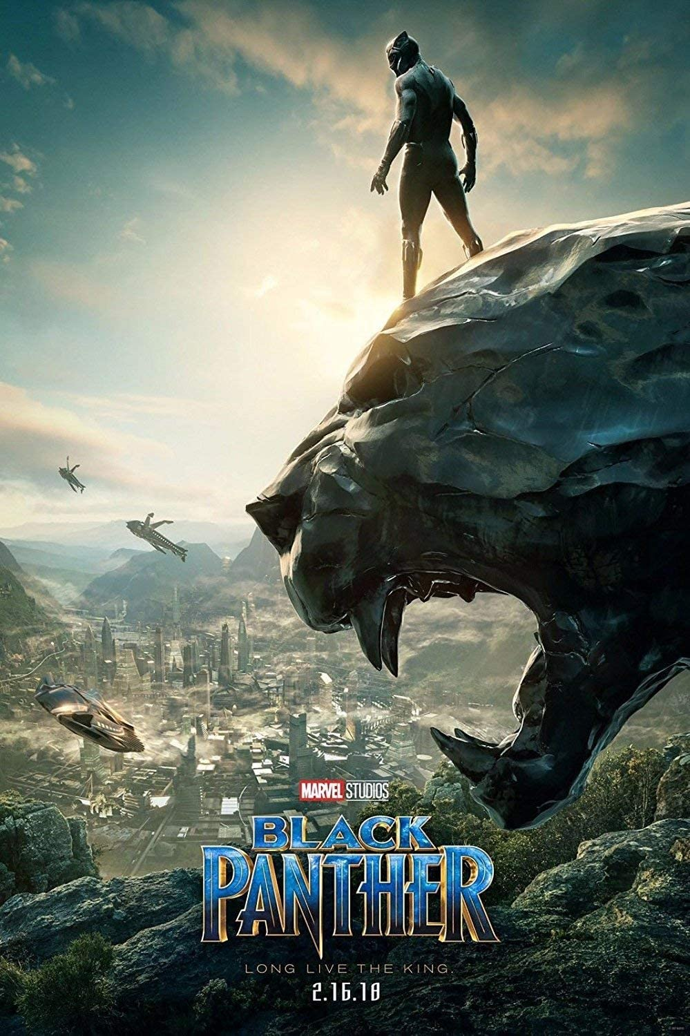 Marvel Black Panther Movie Poster(12