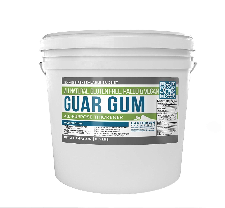 Best Laundry Detergent 2020 Amazon.: Guar Gum Powder, 1 Gallon Bucket (6.5 lb) by
