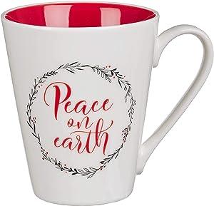 Peace on Earth Coffee Mug, Peace On Earth Collection, Luke 2:14