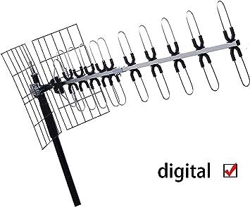 Antena de televisión digital de alta ganancia DYHP-A10-CODE ...