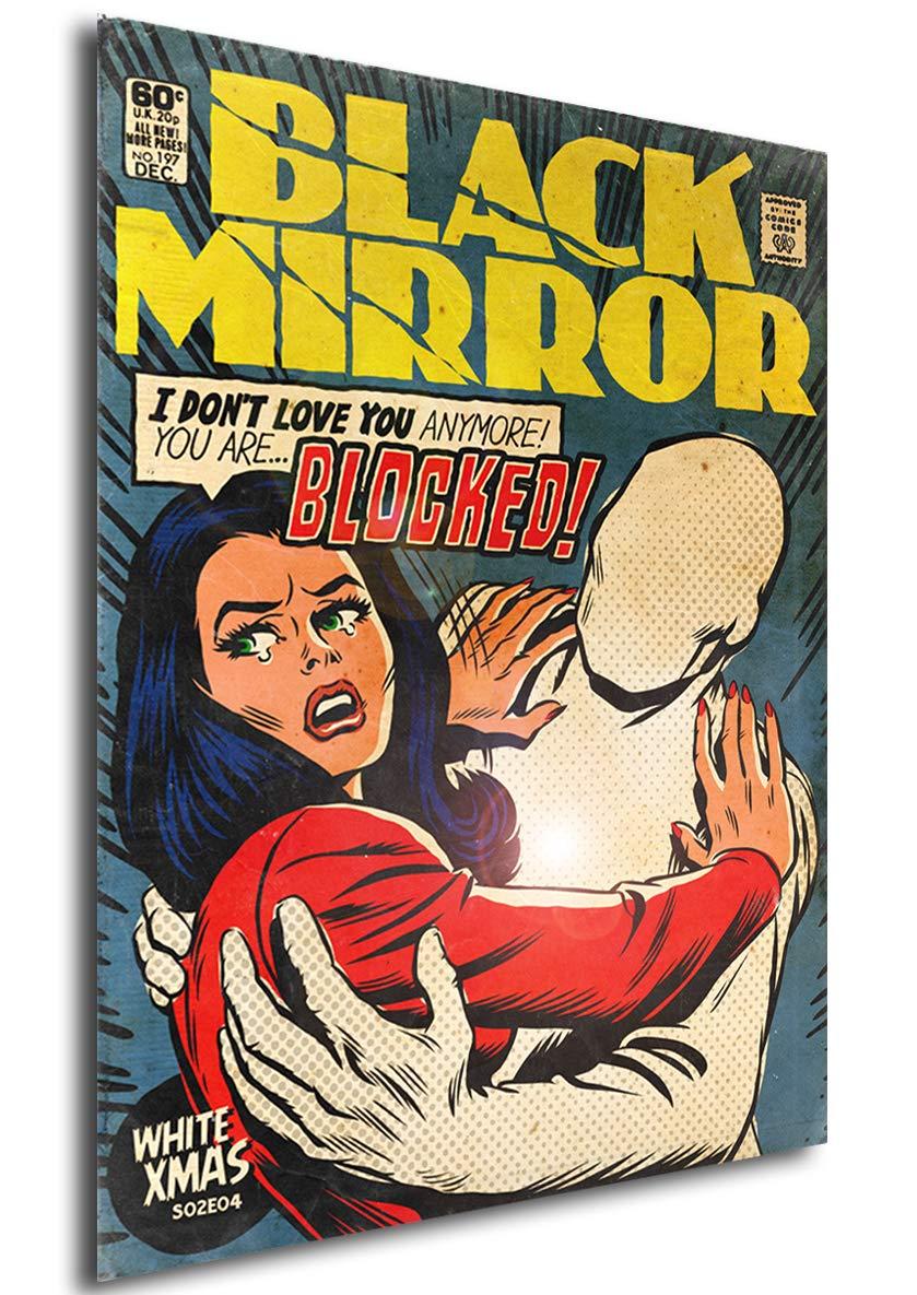 Instabuy Poster Black Mirror Vintage 06 A3 42x30 cm
