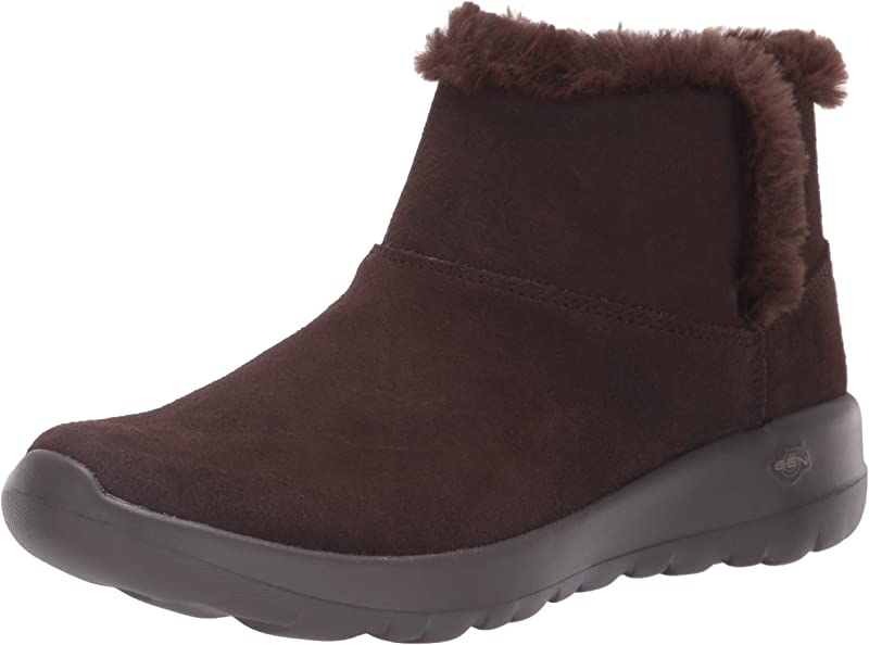 Skechers On The Go Joy Bundle Up Sneakers Stiefel Damen Braun (Chocolate)