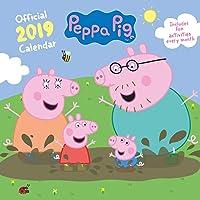 Peppa Pig Official 2019 Calendar - Square Wall Calendar Form