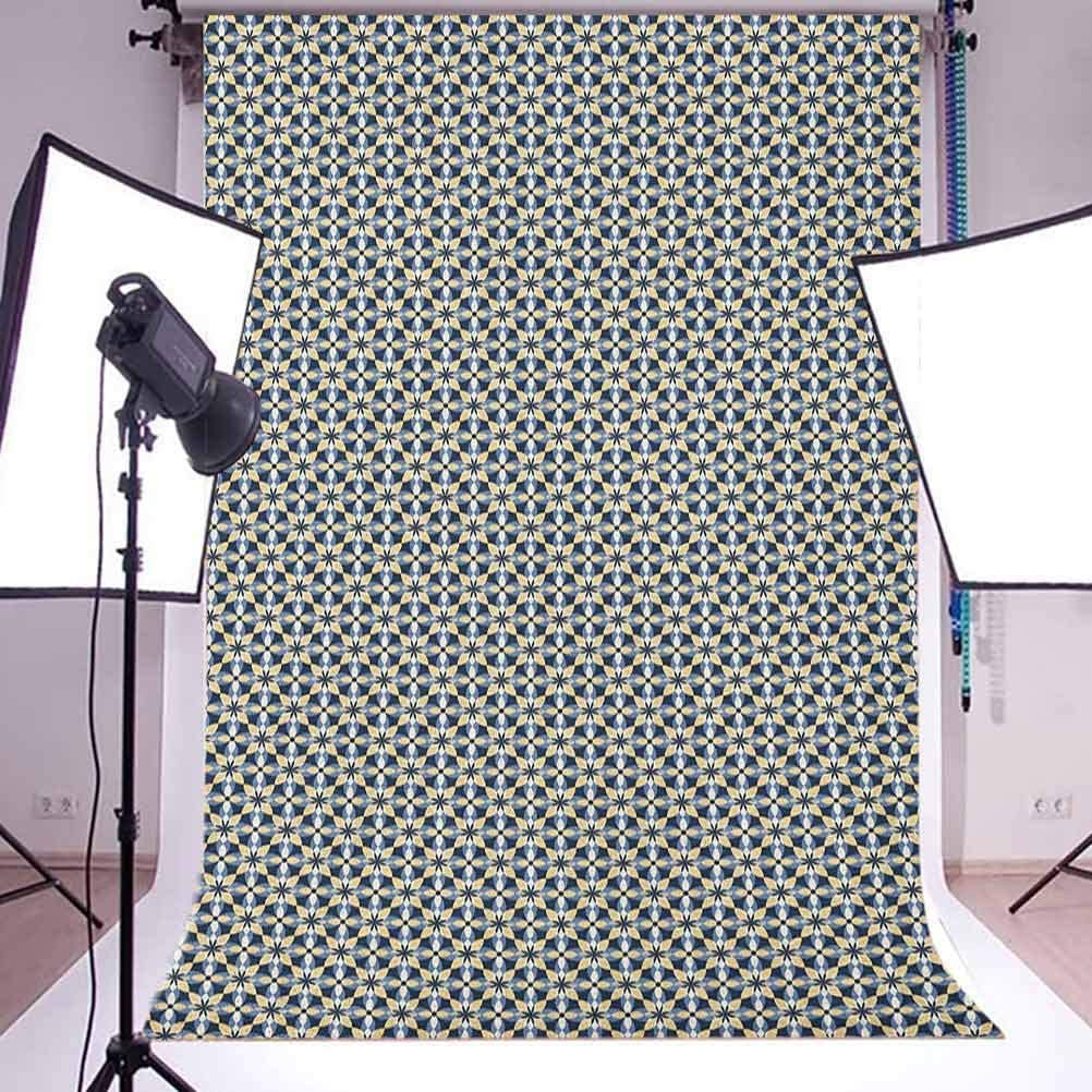 7x10 FT Watercolor Vinyl Photography Backdrop,Tropical Flower Pattern Various Tropical Plants Calla Chinese Hibiscus Anemone Background for Photo Backdrop Baby Newborn Photo Studio Props