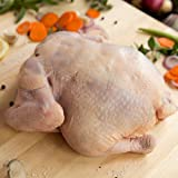 Organic Free Range Chicken - USDA organic, free range, flash frozen, whole chicken from American farms