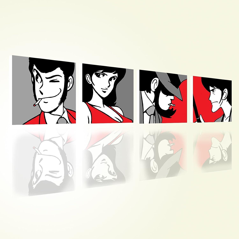 Lupin 3 quadro moderno stampa su tela canvas