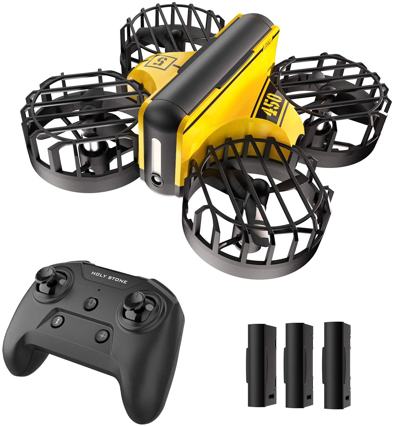 Holy Stone HS210 Toy Mini Drone RC Quadcopter Gift for Kids with 3 Batteries