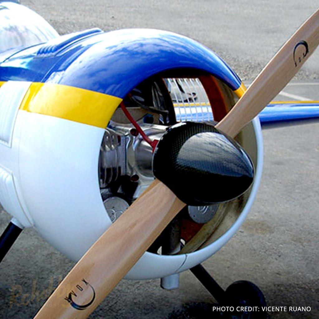 20*10 RC Gasoline plane Aircarft engine Gas carbon fiber propeller prop 2 blades