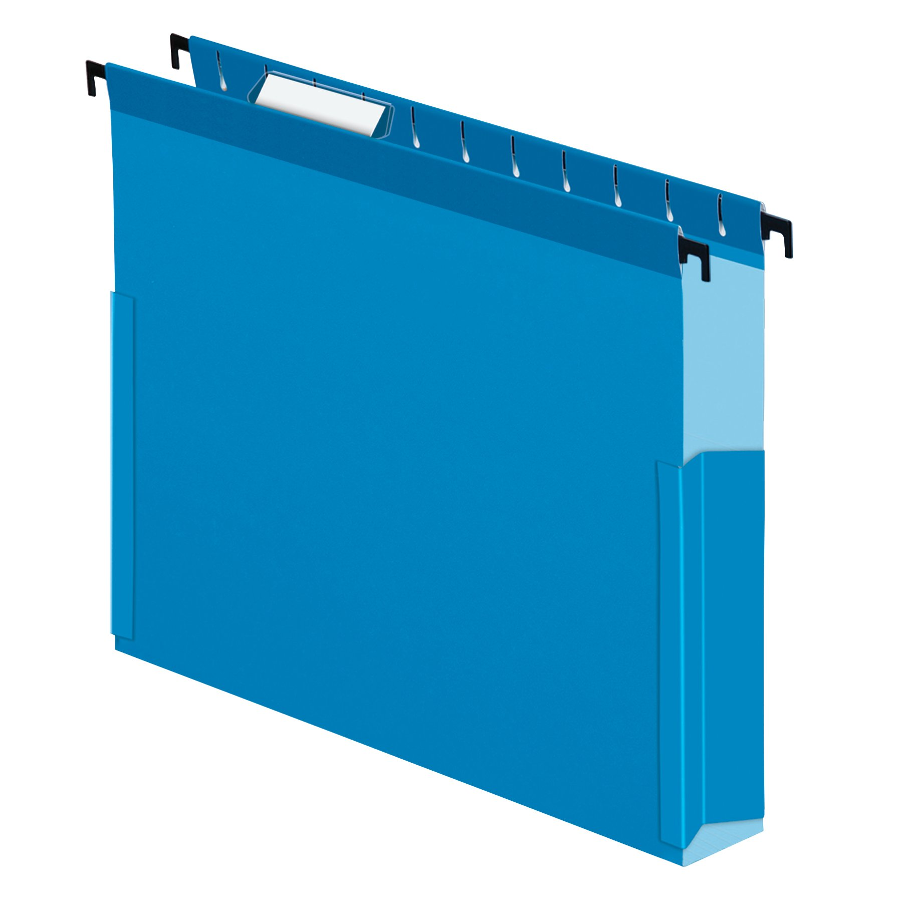 Pendaflex 59202 SureHook Reinforced Hanging Box Files, 2'' Exp with Sides, Letter, Blue (Box of 25)