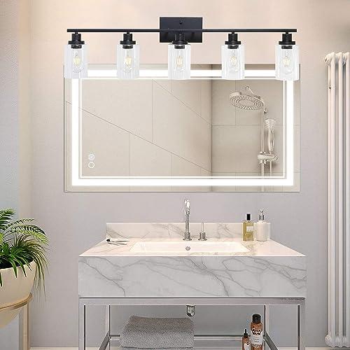 MELUCEE 40 x 24 Inch Bathroom Mirror LED Vanity Mirror