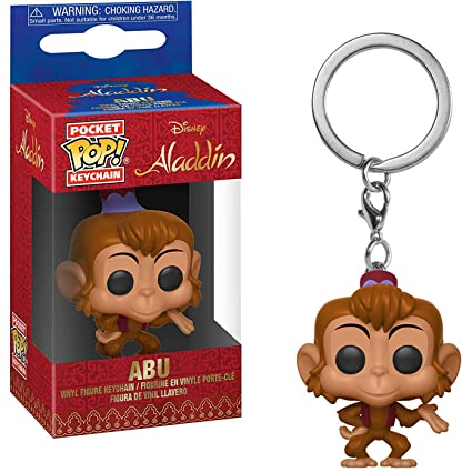 Amazon.com: Funko Abu: Disney - Aladdin x Pocket POP! Mini ...