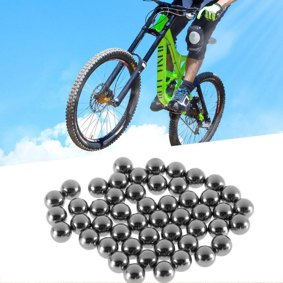 Pi/èces de Rechange roulement /à Billes en Acier de Bicyclette de v/élo 4mm 5mm 6mm 8mm 9mm 10mm Kaemma