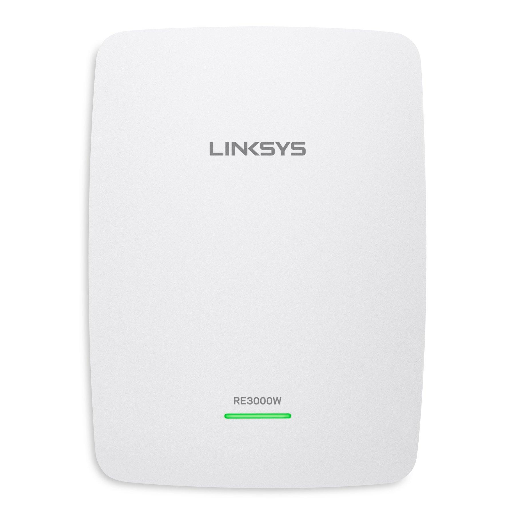 Linksys RE3000W N300 Wi-Fi Range Extender (RE3000W) by Linksys